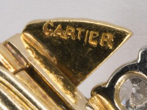 Cartier signature makers mark
