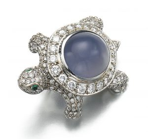 Cartier Turtle Brooch