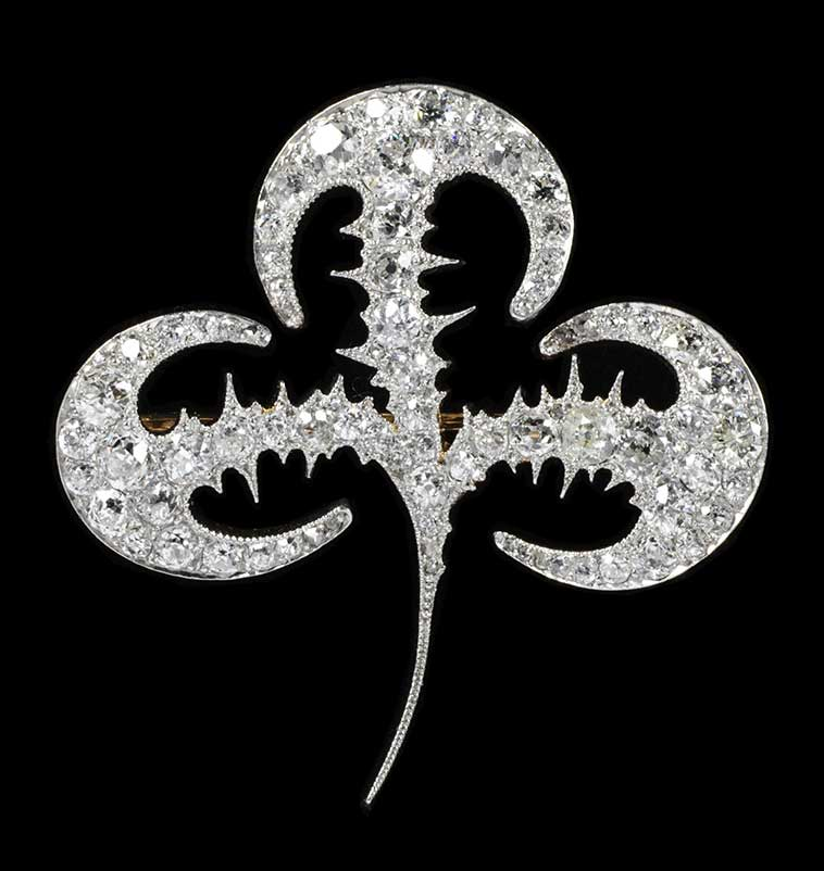 Lalique Brooch for Tiffany & Co