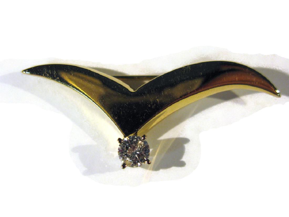 Tiffany & Co Seagull Brooch