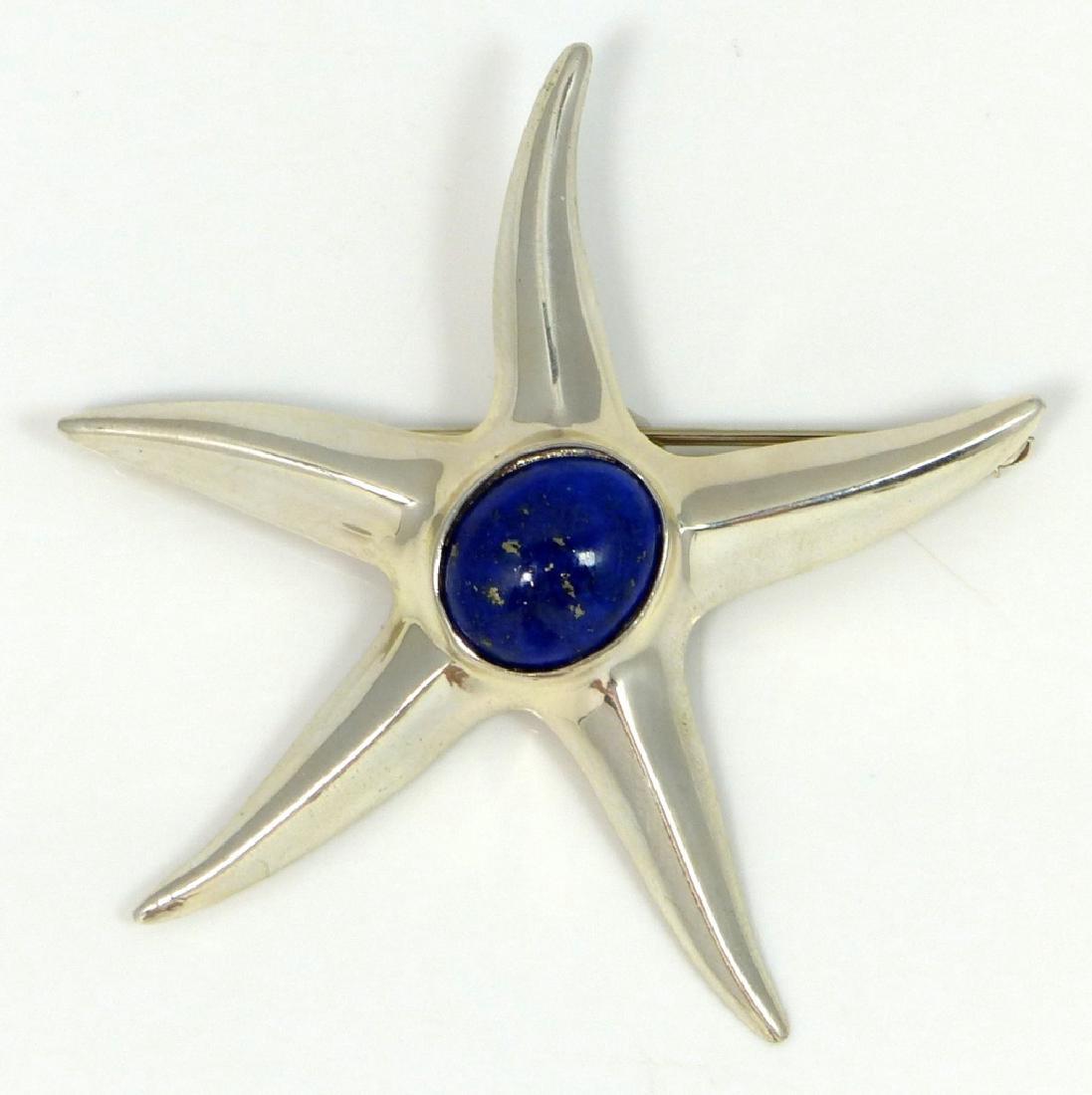 Tiffany Star Brooch