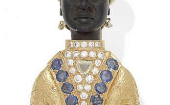 Gem-Set Blackamoor Brooch