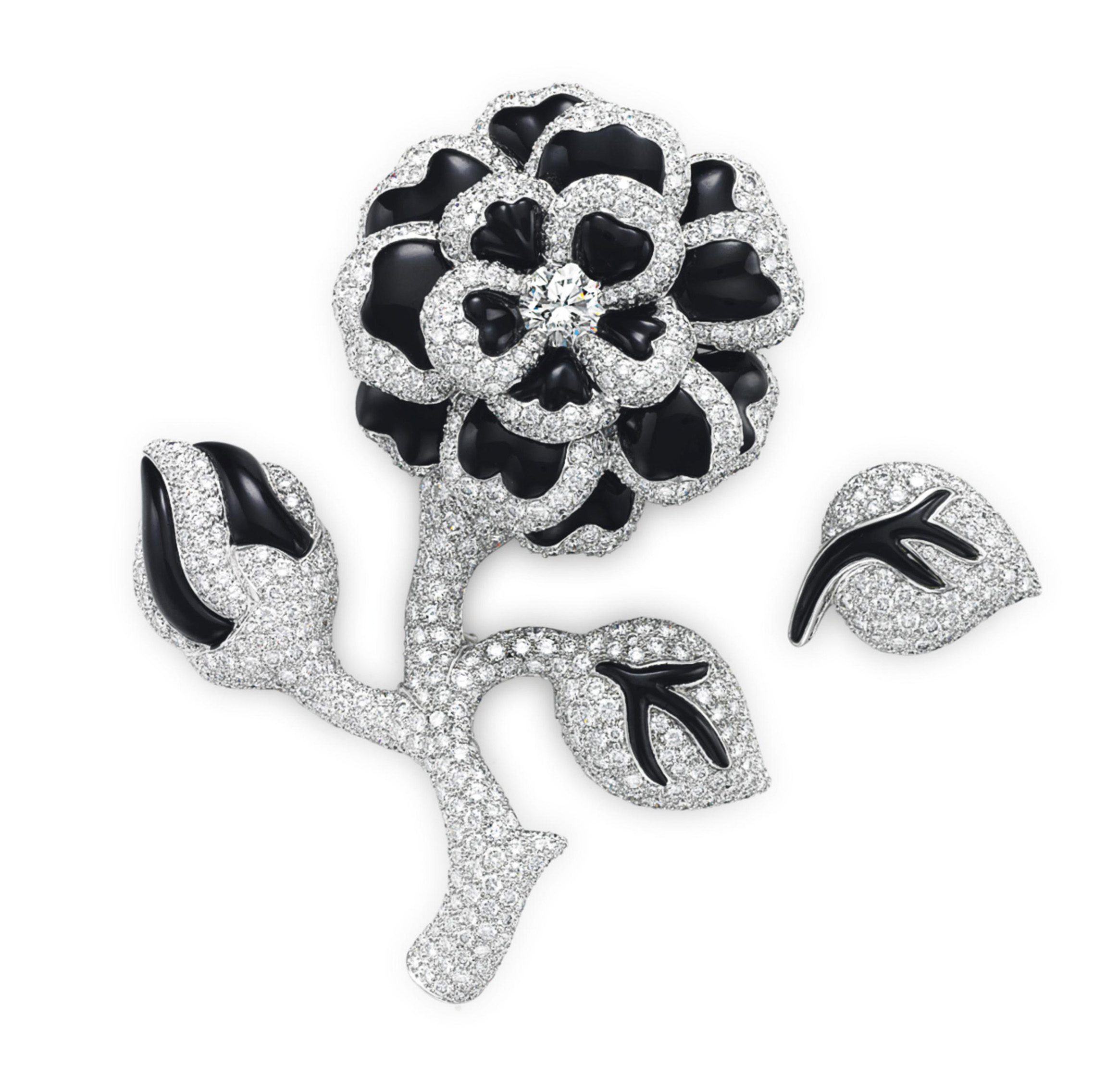 camelia brooch crystal earrings strass camellia set pin chanel