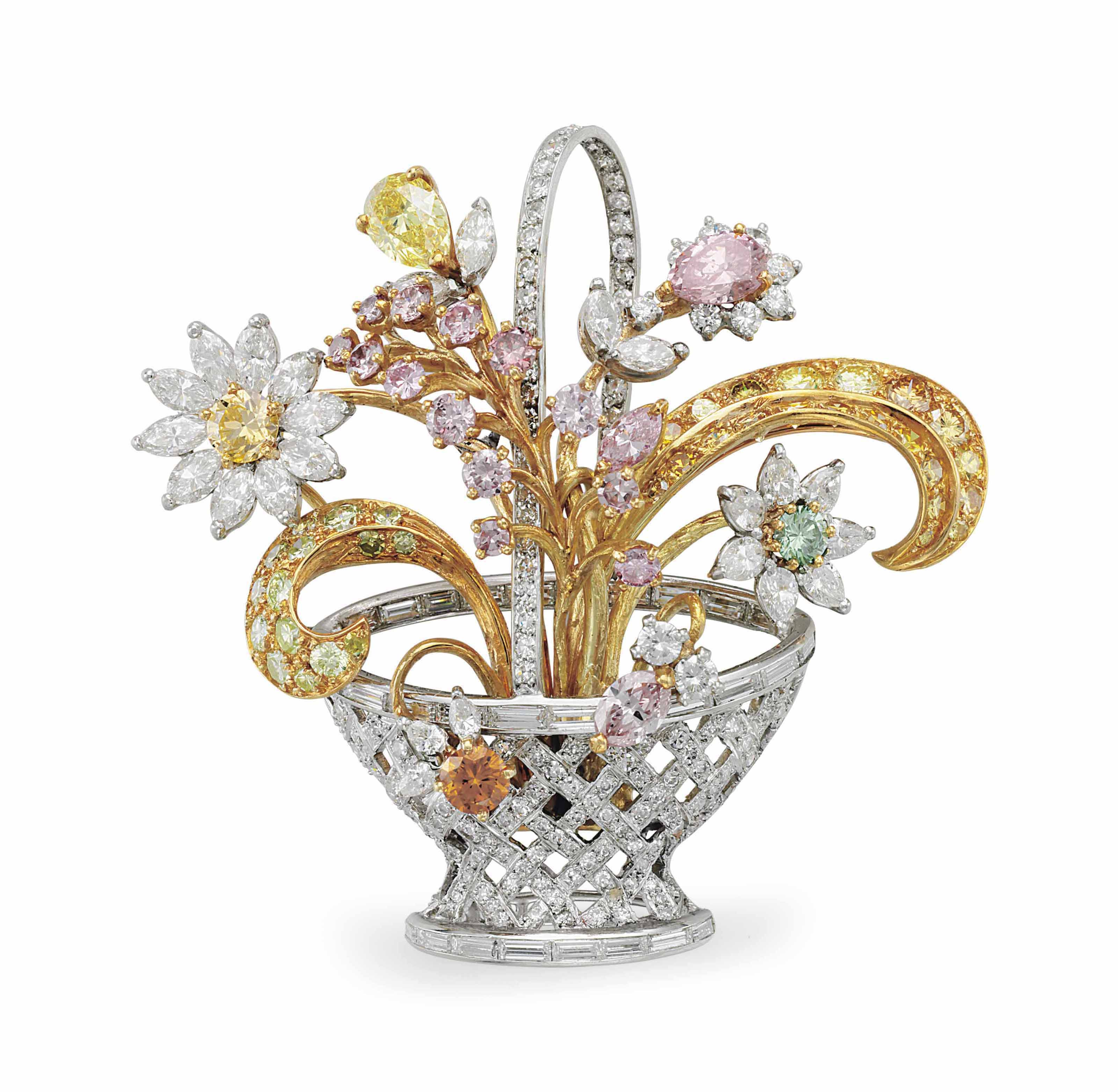 Diamonds Information and History > Antique Brooches