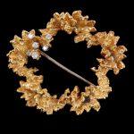 A 1970s diamond brooch by George Weil